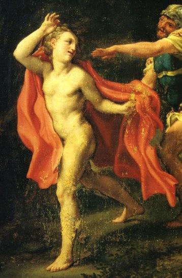 Correggio-giovane-che-fugge-dalla-cattura-di-Cristo
