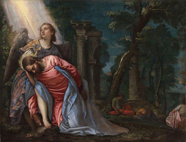 Paolo Veronese, Cristo nell'orto del Getsemani, Milano, Pinacoteca