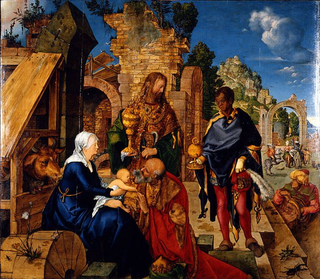 880px-Albrecht_Dürer_-_Adorazione_dei_Magi_-_Google_Art_Project