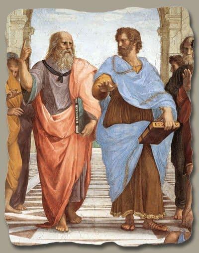 Scuola di Atene - Particolare di Raffaello